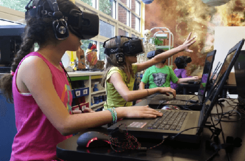 Children Can Learn With VR