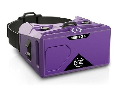 Merge VR - Virtual Reality Headset for iPhone and Android Design