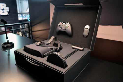 Oculus Rift In Its Carrying Pack
