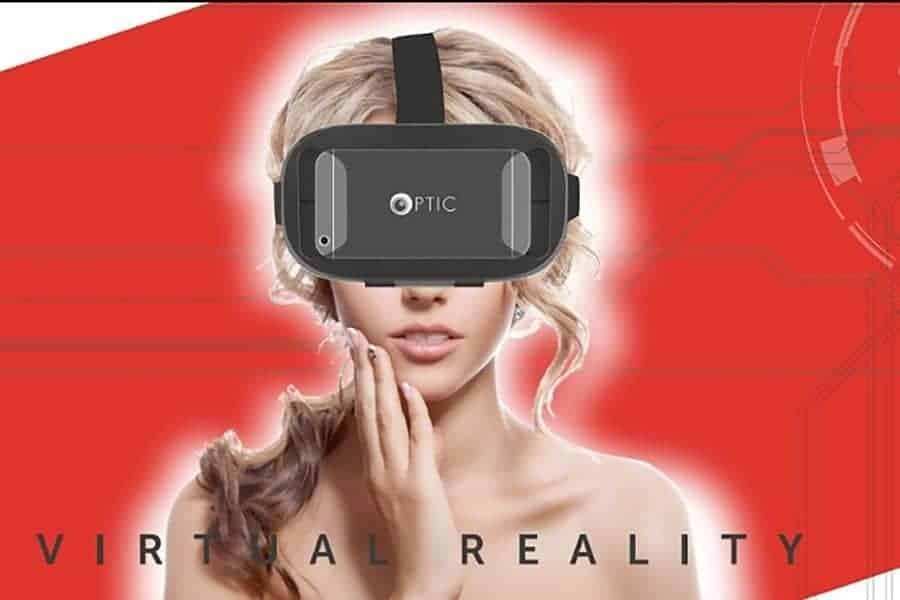 OPTIC Virtual Reality Headset Glasses
